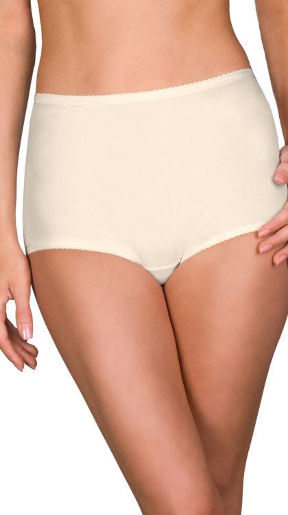 Shadowline® Spandex Full Brief Panty 3-Pack