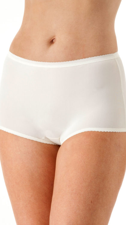 Shadowline® Spandex Modern Brief Panty 3-Pack