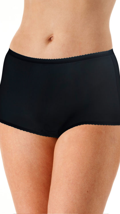 Shadowline® Nylon Modern Brief Panty 3-Pack