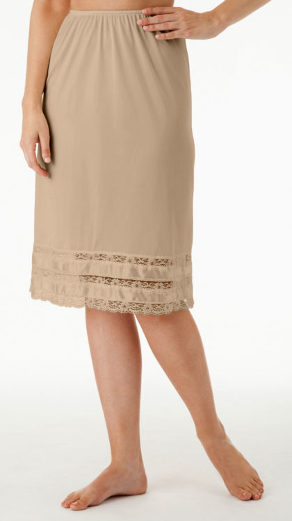 nude color pettiskirt
