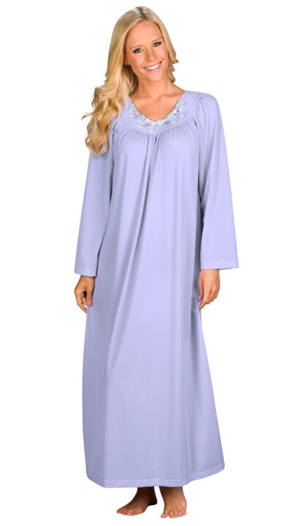 Shadowline® Long Sleeve Nightgown
