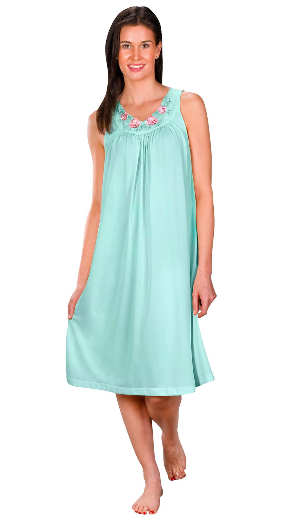 Shadowline® Short Sleeveless Nightgown