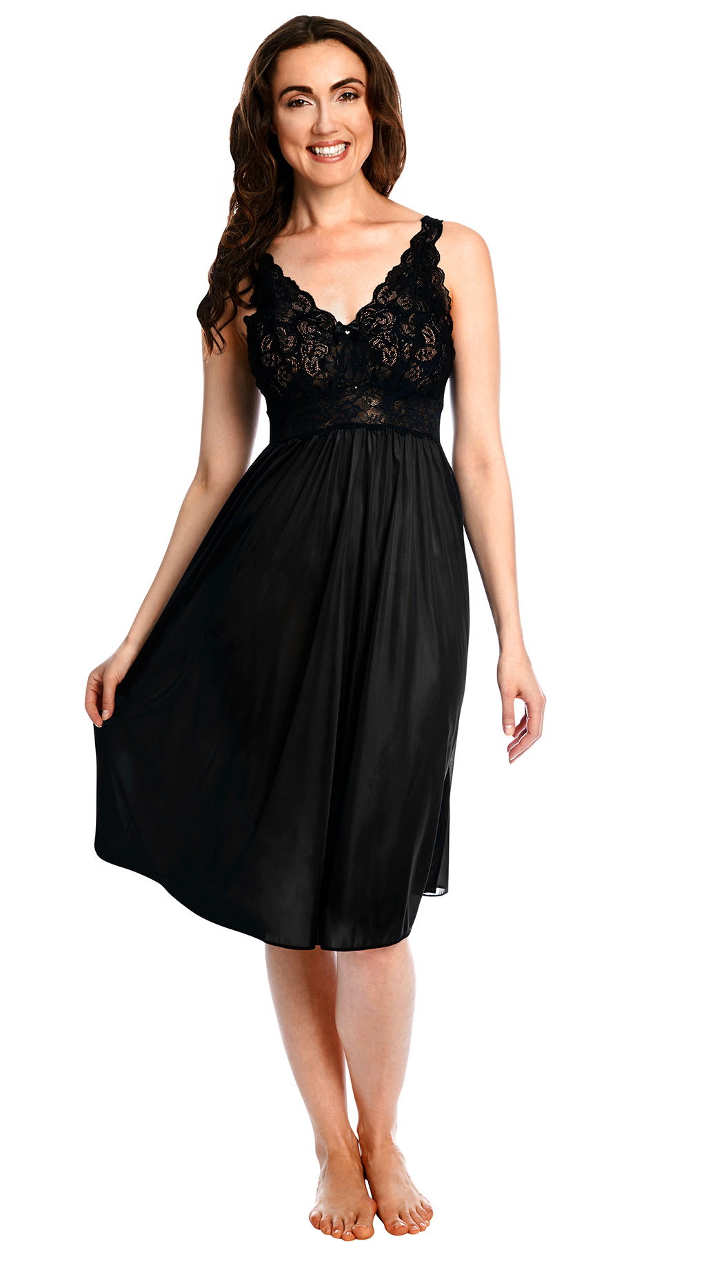 Women's Short Lace Nightgown