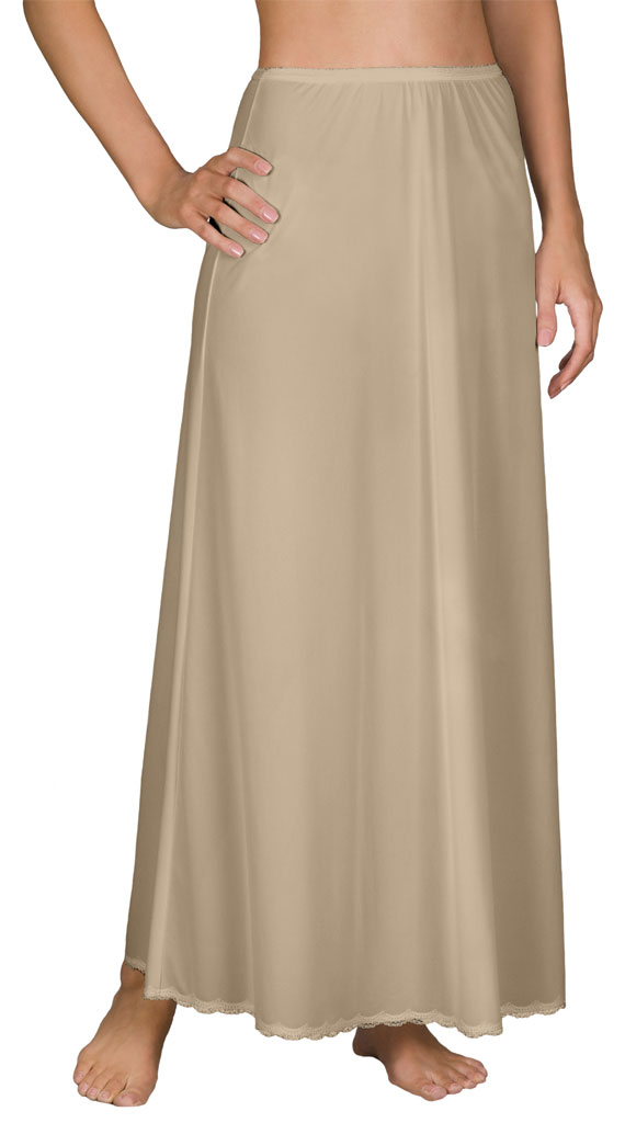 nude full length slips