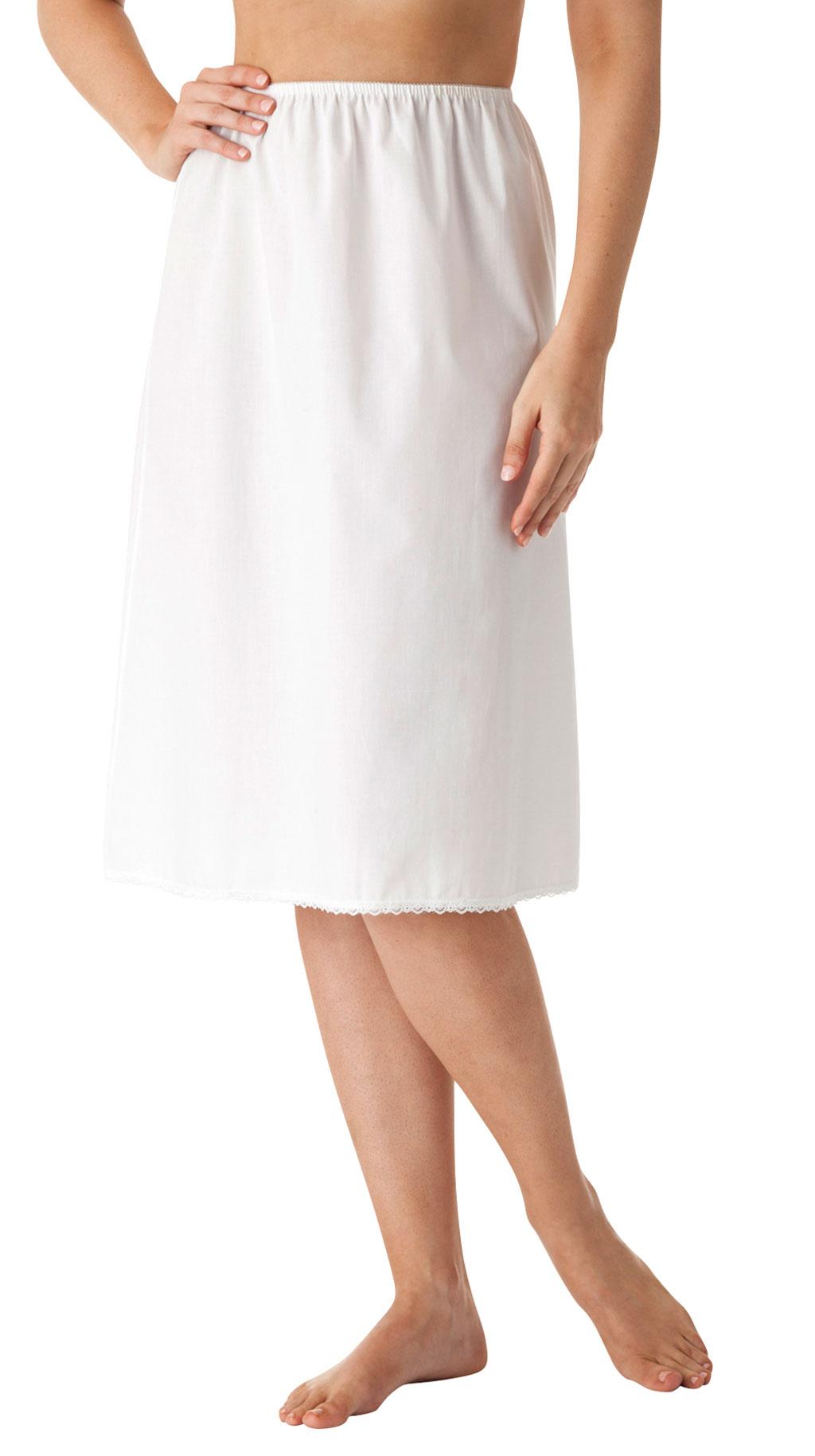 Velrose® Cotton Skirt Slip