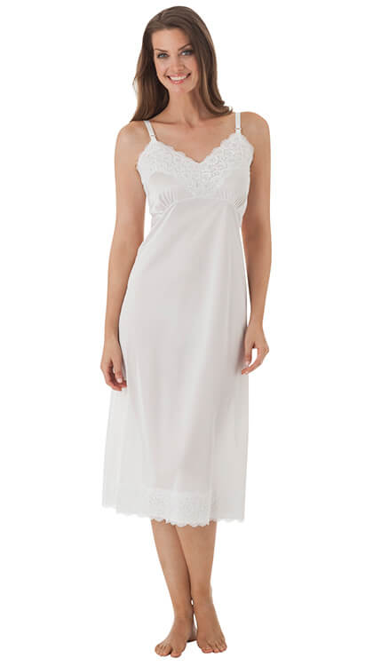 Full Slip w/ Wide Lace