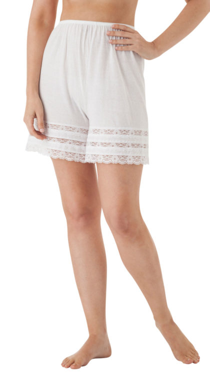 Velrose® Adjustable Cotton Knit Culottes