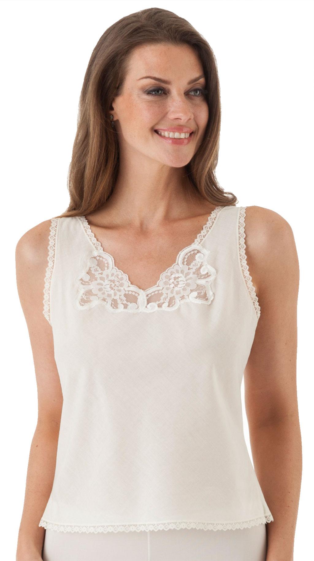 Velrose® Cotton Batiste Camisole