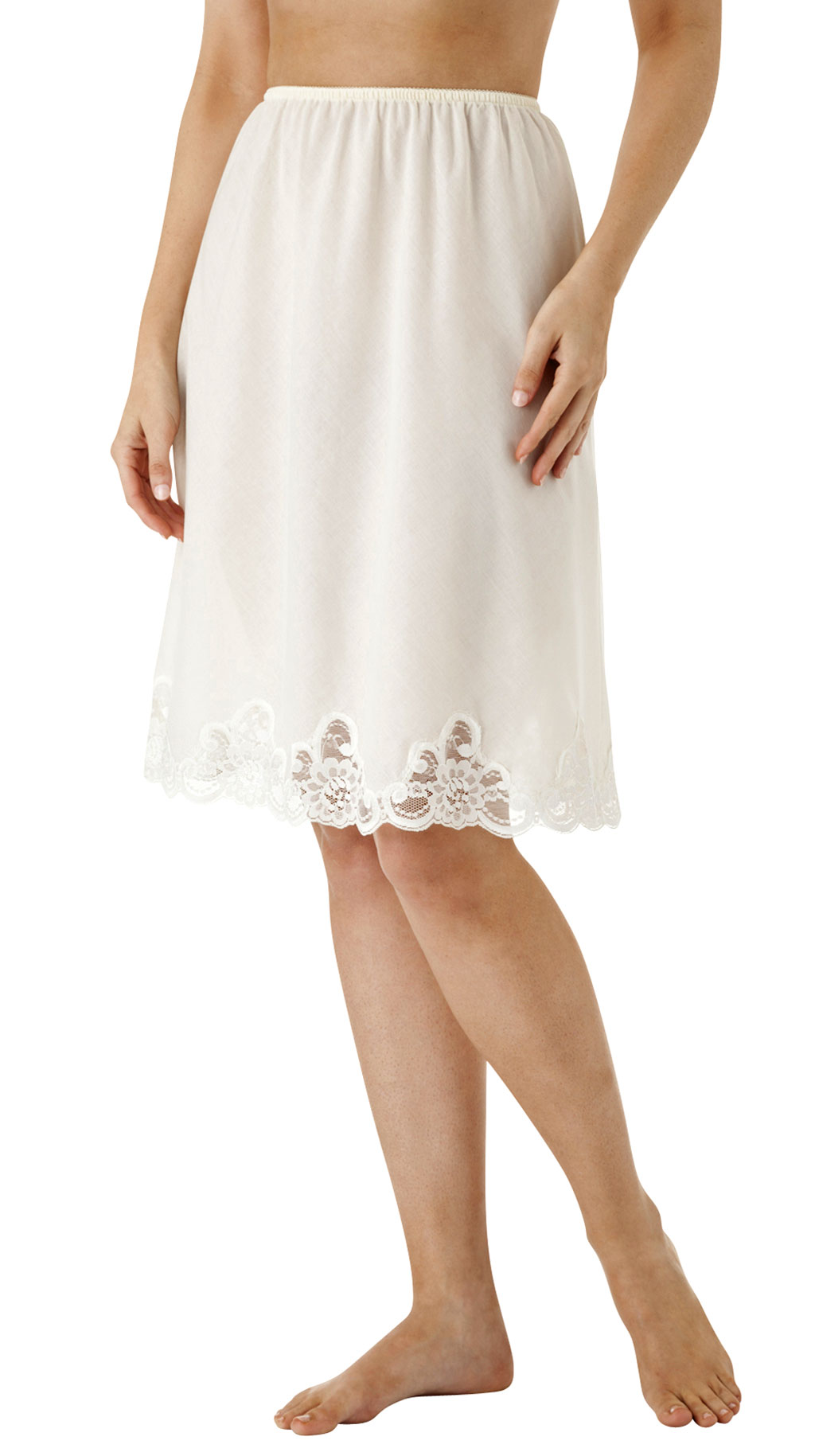 Velrose® Cotton Batiste Half Slip