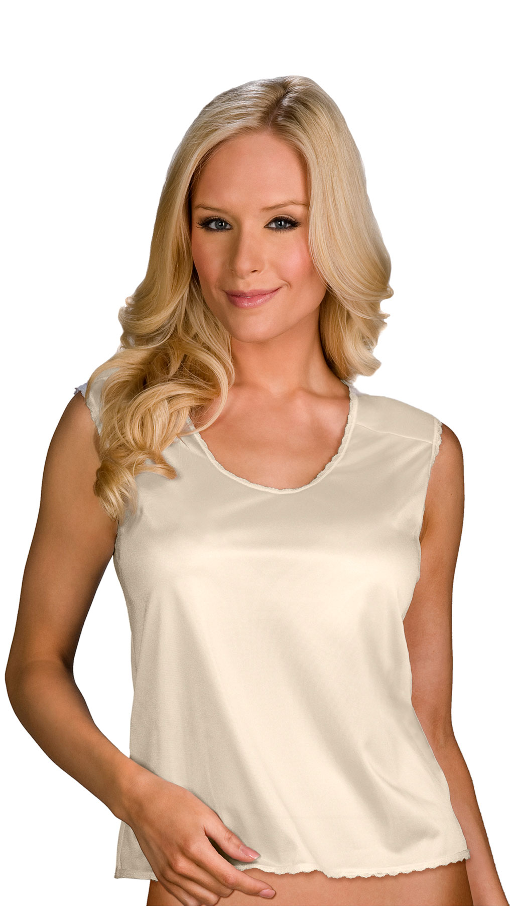 Velrose® Nylon Padded Shoulder Cami