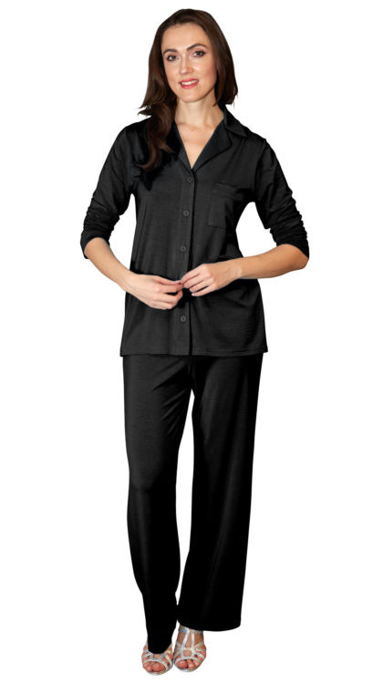Women's Black PJ Set