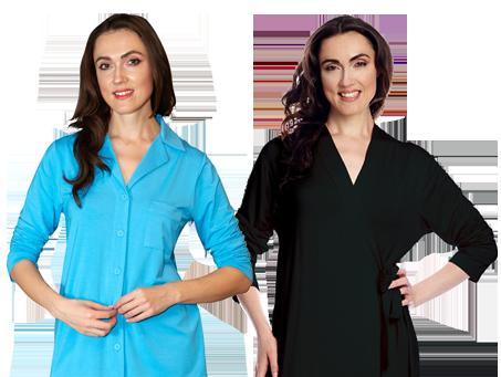 Shadowline® Placket Front Pajama Set