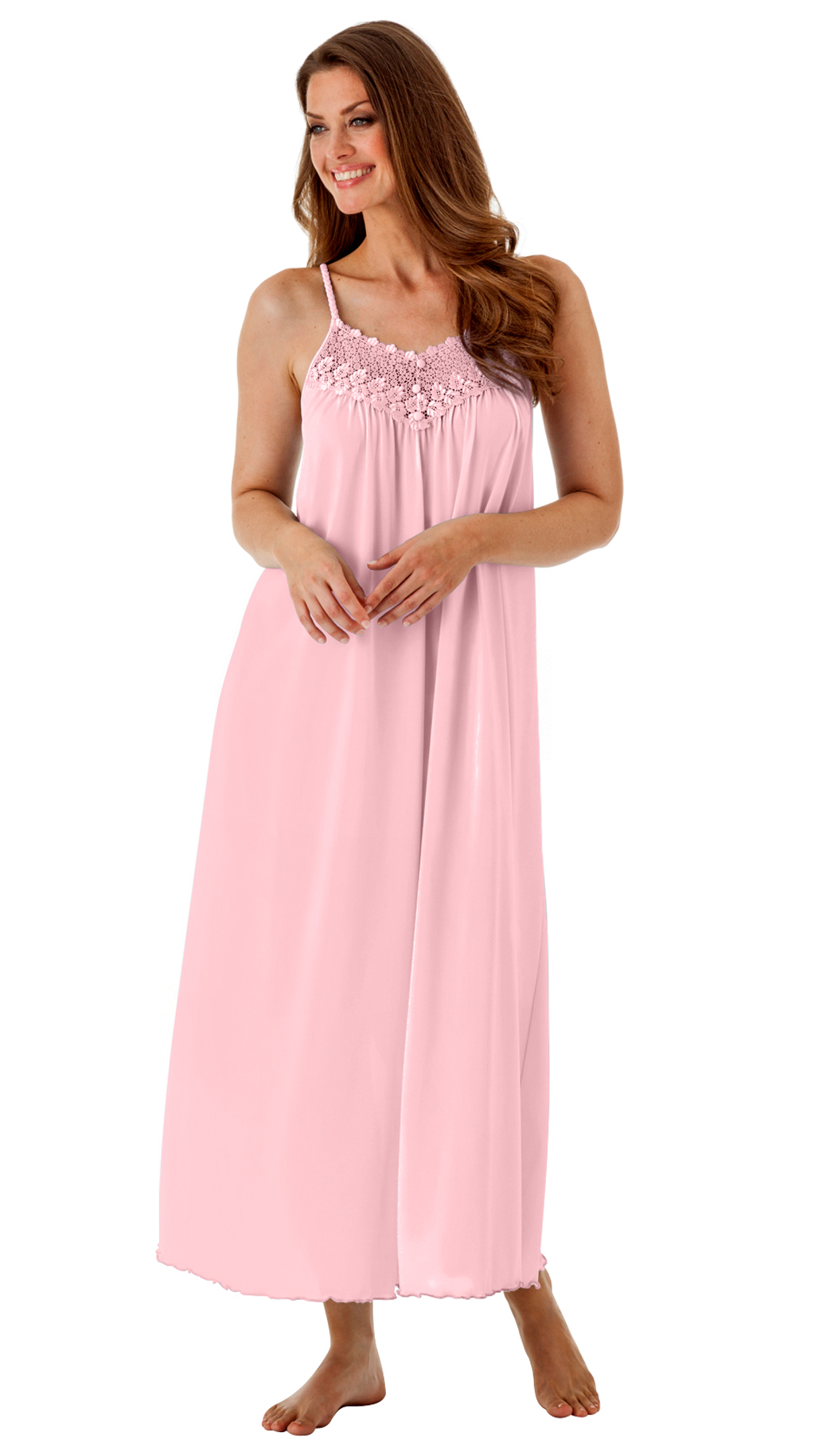 Women\'s Long Spaghetti Strap Nightgown | Shadowline