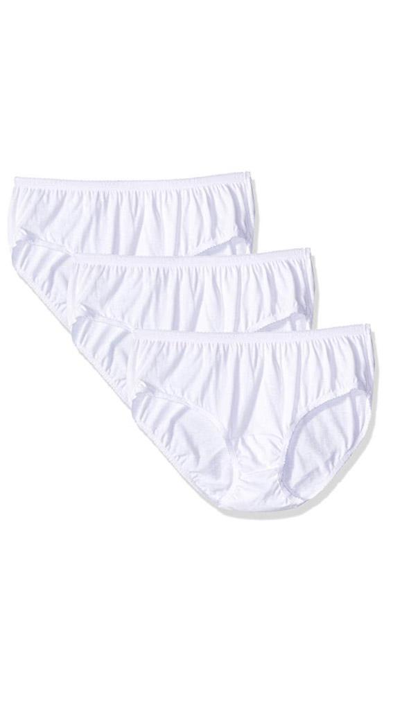 white hipster panties three pack