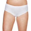 Shadowline® 11021 White Cotton Hipster Panty