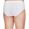 Shadowline® 11021 White Cotton Hipster Panty back