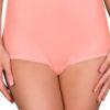 Shadowline 17052 melon orange high waist full brief panty