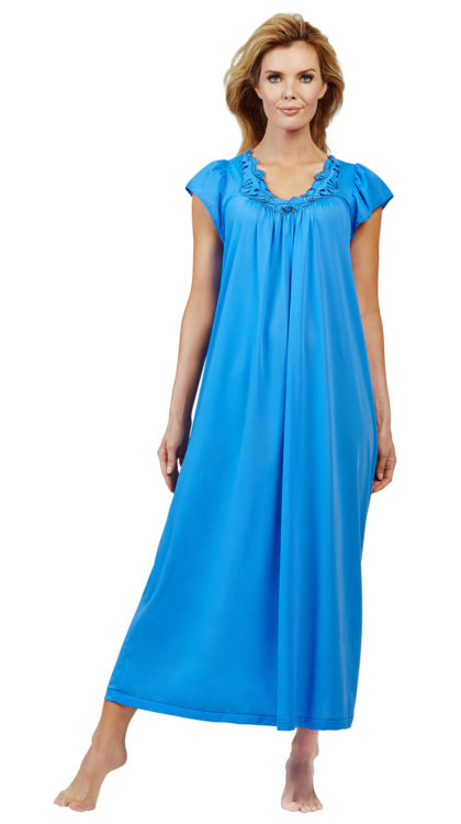 cap sleeve night gowns