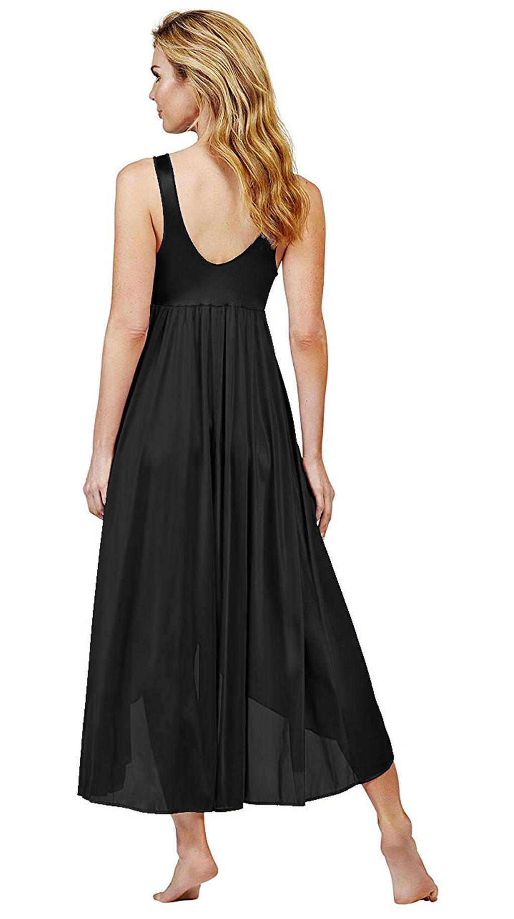 black peignoir nightgowns