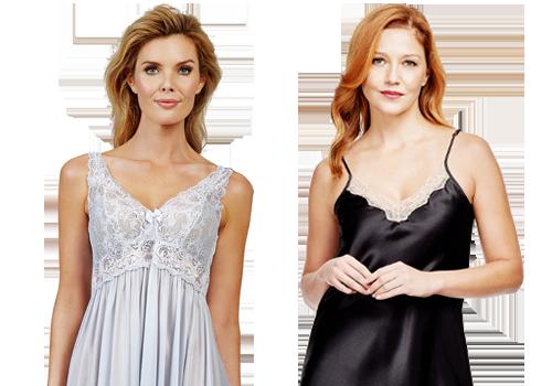 Shadowline® Short Cap Sleeve Nightgown